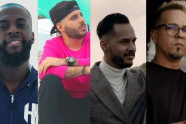 collage de varios artistas